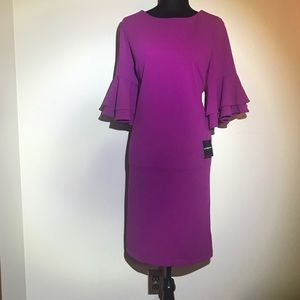 Liz Claiborne magenta dress